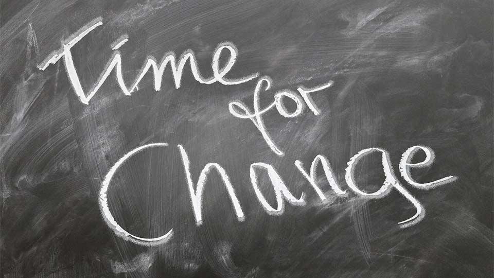 It's Time for a change: Das gilt nicht nur für die Pflege, sondern auch für diese Veranstaltung.