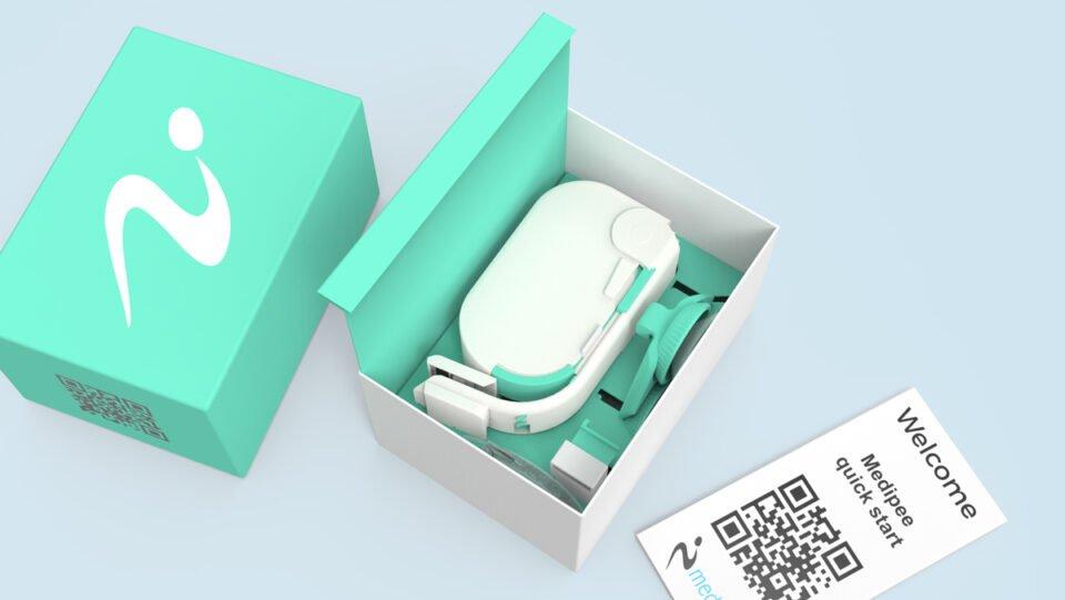 Das Plug`n play-Gerät der Firma Medipee GmbH