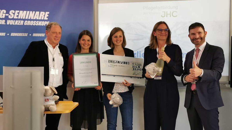 Die Gewinner des Innovationsforums, welches trotz der Situation mit Corona stattfand: Bildungsprofis International UG